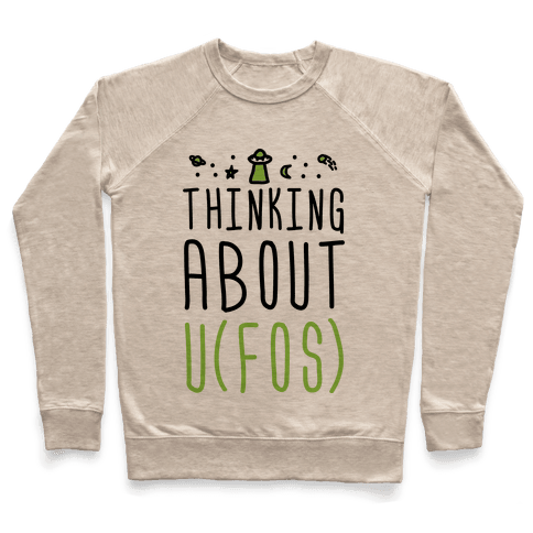 Thinking About UFOs Pullover