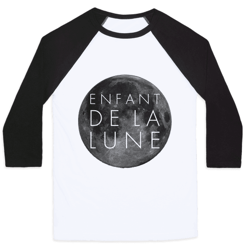 Child of the Moon French Baseball Tee