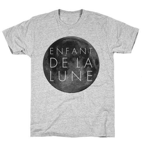 Child of the Moon French Mens T-Shirt