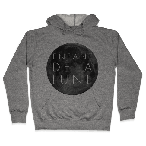 Child of the Moon French Hooded Sweatshirt