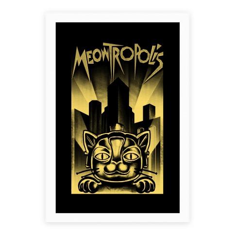 Meowtropolis (Metropolis Parody) Poster