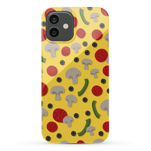 Pizza Topping Pattern Phone Case
