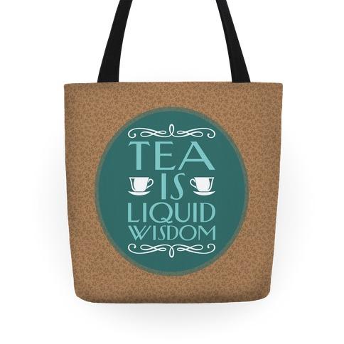Liquid Wisdom Tote