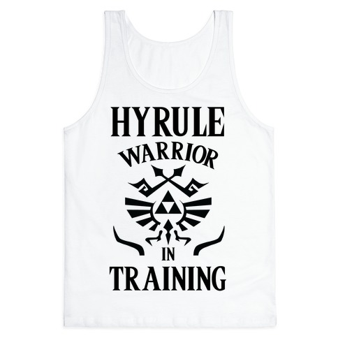 Hyrule Warrior In Training Tank Top