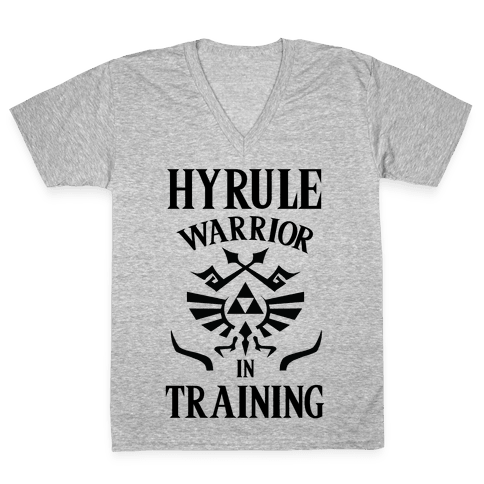 Hyrule Warrior In Training V-Neck Tee Shirt