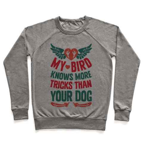 My Bird Knows More Tricks Than Your Dog Pullover