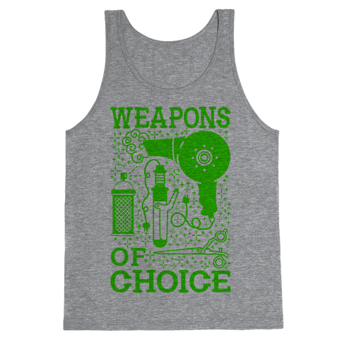 Weapons of Choice Tank Top