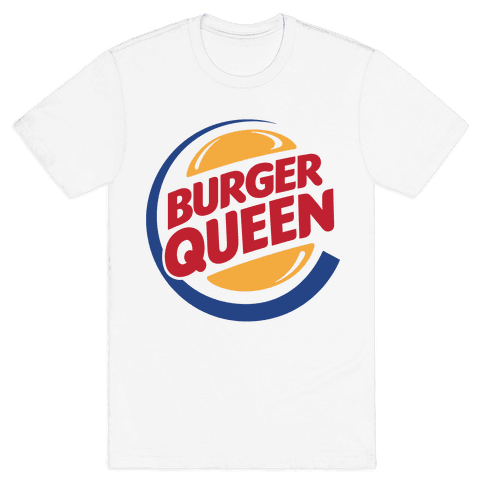 Burger Queen Mens T-Shirt