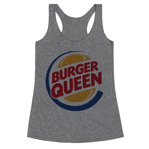 Burger Queen Racerback Tank Top