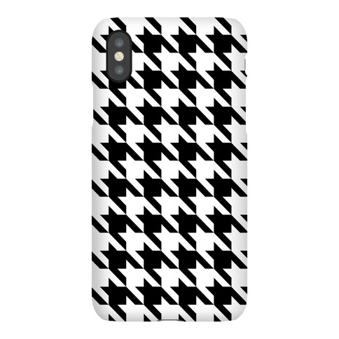 Houndstooth Phone Case