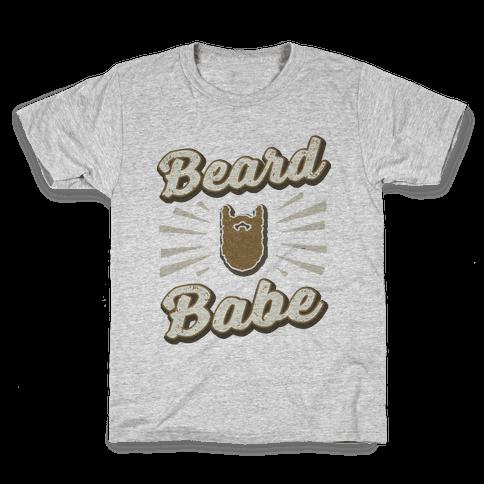 Beard Babe Kids T-Shirt