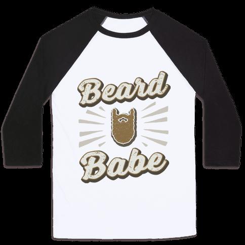 Beard Babe Baseball Tee