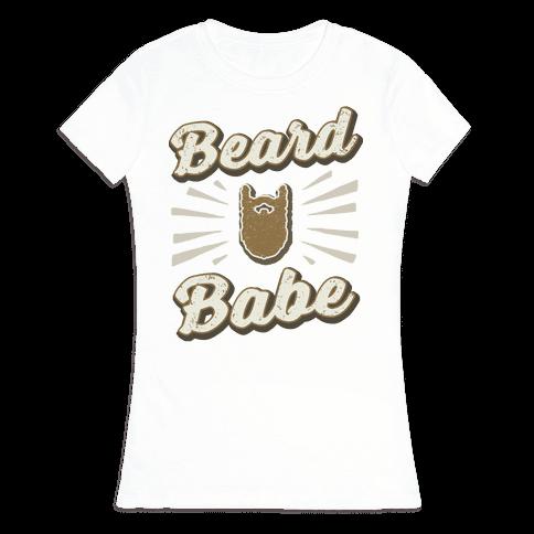 Beard Babe Womens T-Shirt