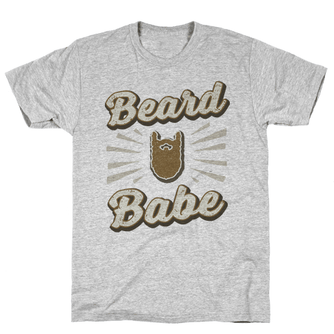 Beard Babe Mens T-Shirt