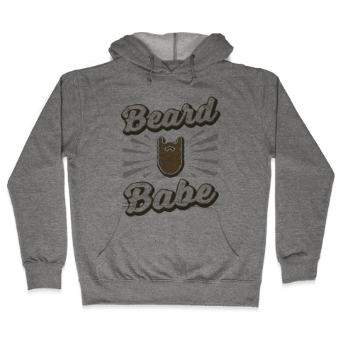 Beard Babe Hooded Sweatshirt