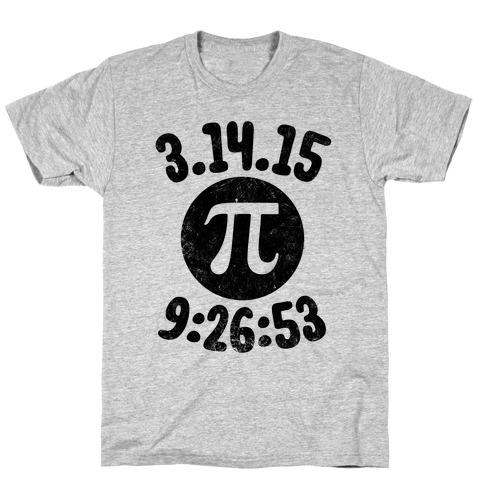 Pi Day 2015 Mens T-Shirt