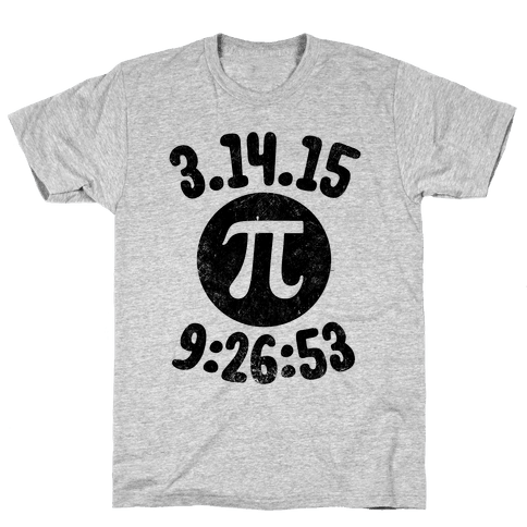 Pi Day 2015 Mens T-Shirt