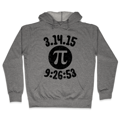 Pi Day 2015 Hooded Sweatshirt