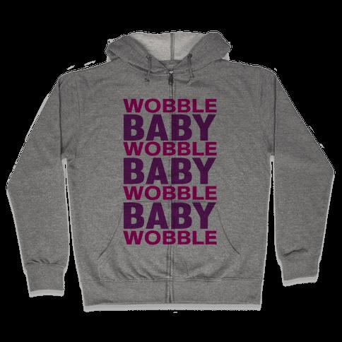 Wobble Baby Zip Hoodie