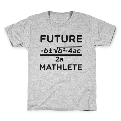 Mathlete of Tomorrow Kids T-Shirt