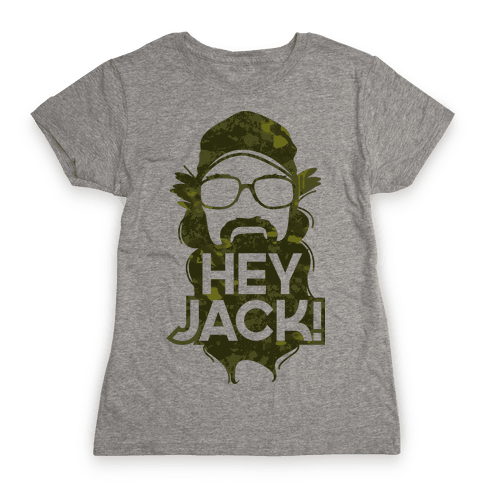 Hey Jack Si Womens T-Shirt
