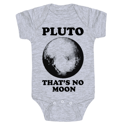 That's No Moon Baby Onesy