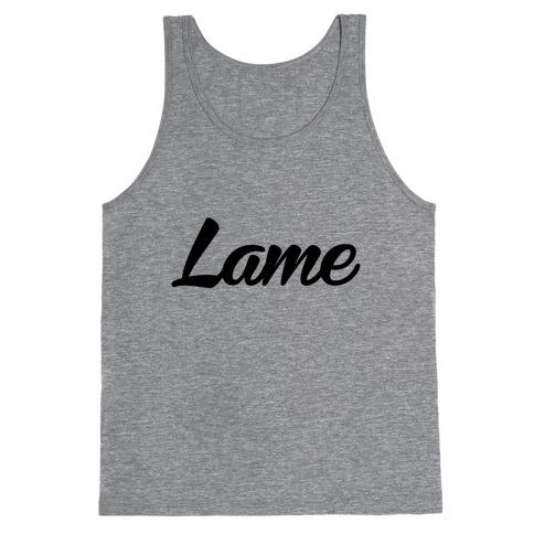 Lame Tank Top