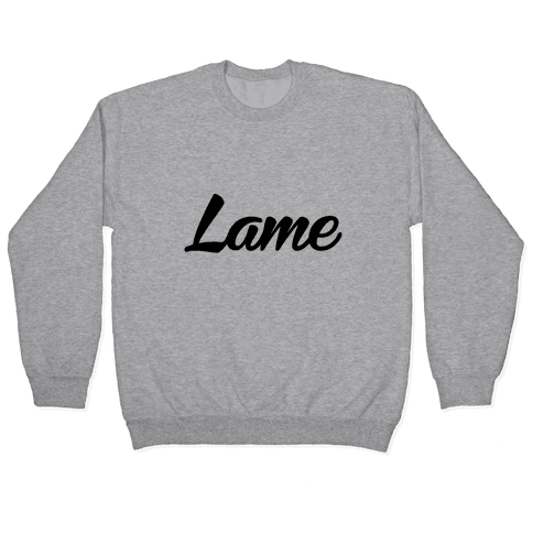 Lame Pullover