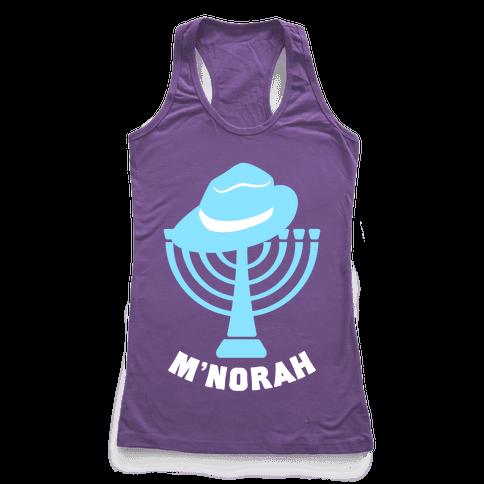 M'norah Racerback Tank Top