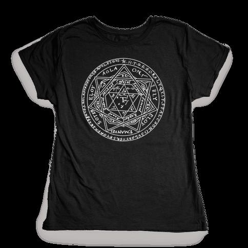 Sigillum Dei Aemeth Womens T-Shirt