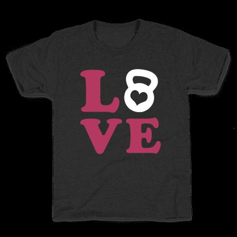 Love Fitness Kids T-Shirt