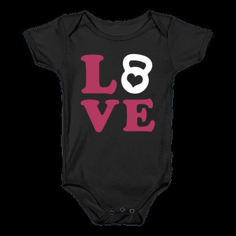 Love Fitness Baby Onesy