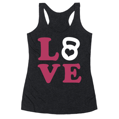 Love Fitness Racerback Tank Top