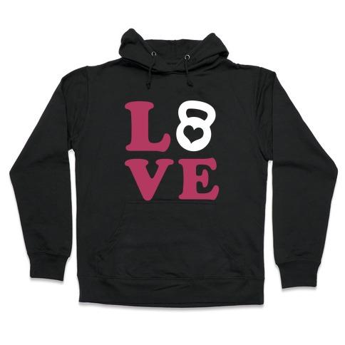 Love Fitness Hooded Sweatshirt