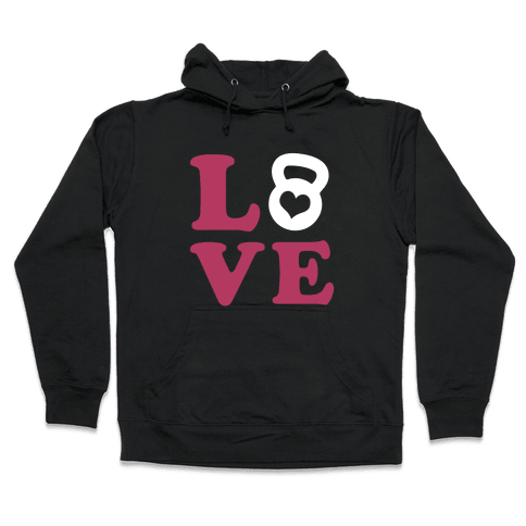 Love Fitness Hooded Sweatshirt