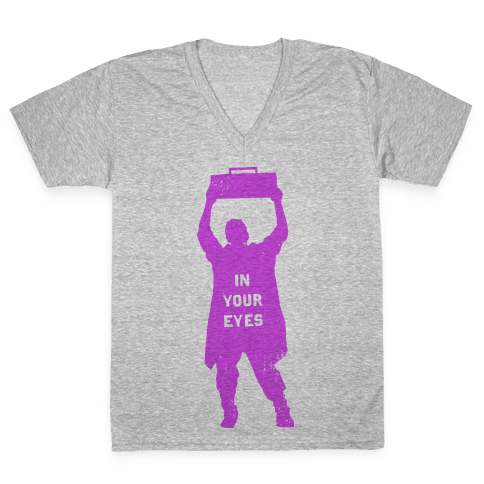 In Your Eyes (Say Anything) V-Neck Tee Shirt