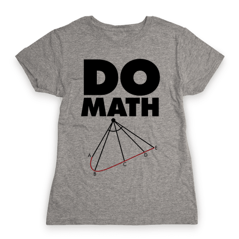 Do Math Womens T-Shirt