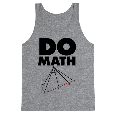Do Math Tank Top