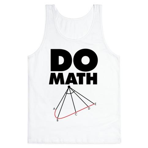 Do Math Tank Top