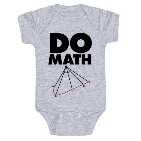 Do Math Baby Onesy
