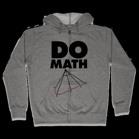 Do Math Zip Hoodie