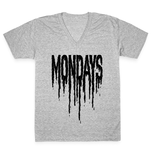 Mondays V-Neck Tee Shirt