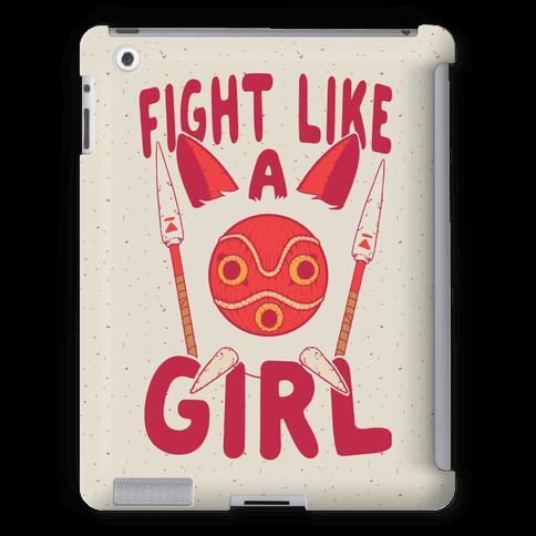 Fight Like A Girl San Parody