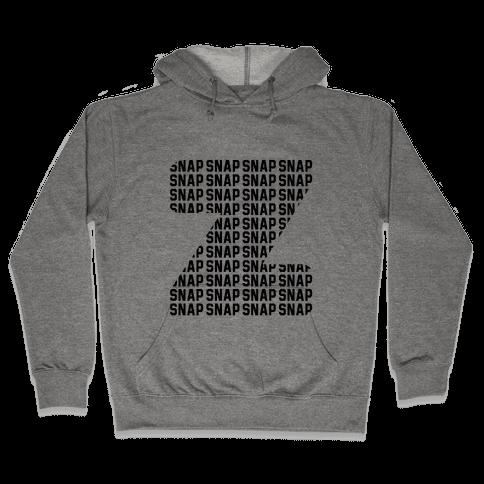 Z Snap Hooded Sweatshirt