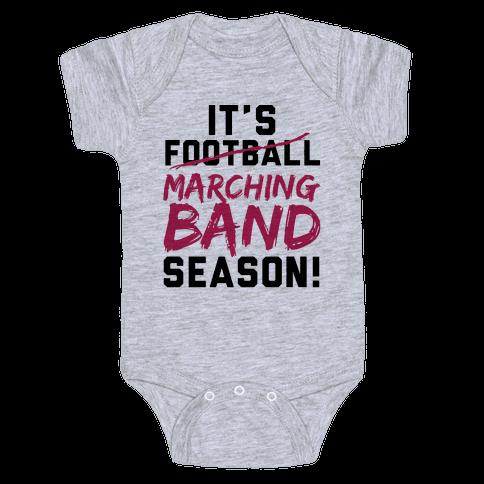 It's Marching Band Season Baby Onesy