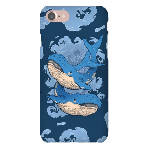 Humpback Whales Phone Case