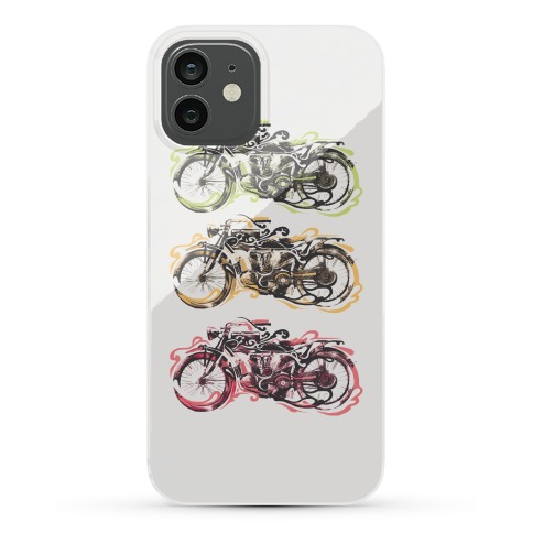 Vintage Motorbike Phone Case