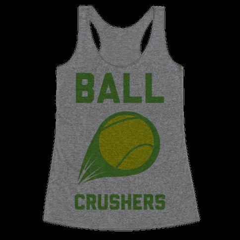 Ball Crushers Racerback Tank Top