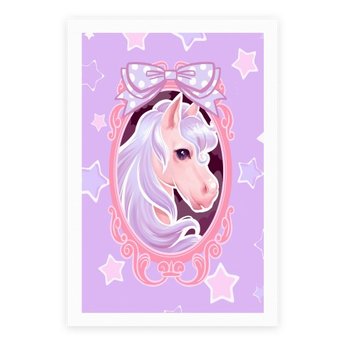 Pastel Magic Pony Poster