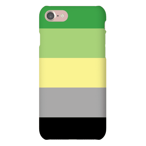 Aromantic Pride Flag Phone Case
